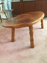 Hand-made Brown wooden (Willow) Slab Coffee Table  Brampton, L6V 4T2