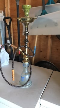 black and gray hookah with box Spruce Grove, T7X 3K3