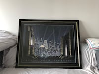 RARE and LIMITED EDITION Robert Hoppe Print  New York, 10004
