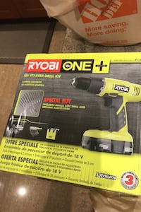 Ryobi cordless drill kit new in box (tool only)