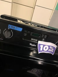 Whirlpool black stove Electric stove