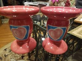 Set of pillar candle holders, NEW