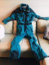 Retro Inside Edge Onsie Ski Suit
