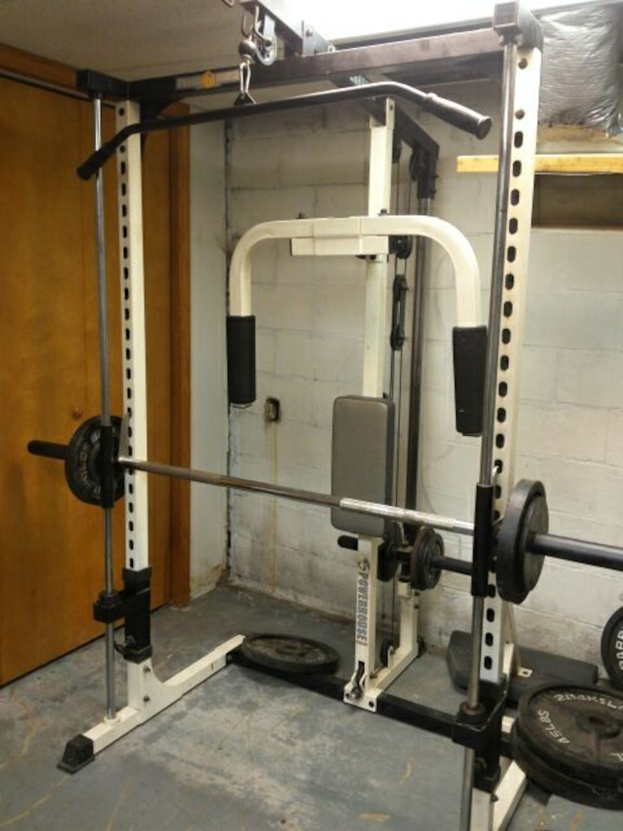 Unique Powerhouse Home Gym Equipment