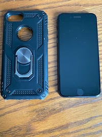iPhone 8 64gb, black, with case, no scratches
