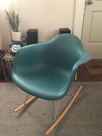 Mid Century Modern Eames Style Rocking Chair NEWORLEANS