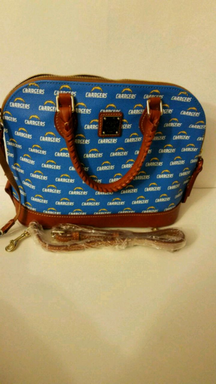 Photo Dooney and Bourke NFL Chargers Satchel
