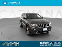 2014 *Jeep* *Grand* *Cherokee* Limited Sport Utility 4D suv Gray Downey