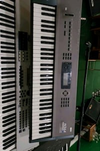 black and white electronic keyboard Capitol Heights, 20743