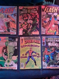 FLASH/GREEN LANTERN/SPIDERMAN COMICS Palm Springs, 92262