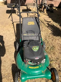 """Briggs and stratton weed eater 21"""" lawnmower Las Vegas, 89107"""