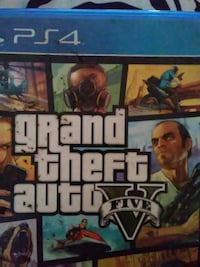 Grand Theft Auto Five PS4 game case Moriarty, 87035