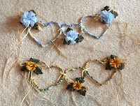 Heart wall hanging-one blue and five sunflower available  Clayton, 54956