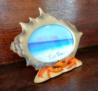 Crab & Conch Shell Picture Frame Manchester Township, 08759