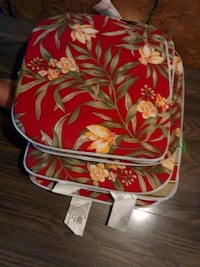 red and white floral backpack Auburndale, 33823