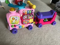 Vtech sit to stand alphabet train in pink Bonney Lake, 98391