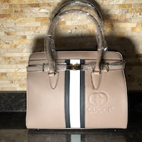 women's white leather tote bag Dearborn, 48126