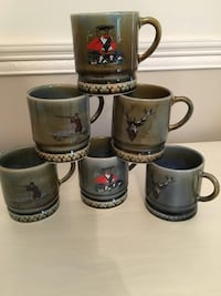 Gunnis mugs. Never used from Ireland 100% Irish porcelain Tredyffrin, 19312