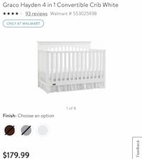 Convertible crib with mattress Woodbridge, 22191