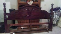 King Sized Wooden Bed Frame Panama City, 32405