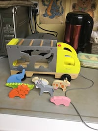 Wooden Animal Shape Sorter truck Brampton, L6V 4K3