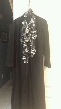 Women's large Gothic trench coat Stafford Township