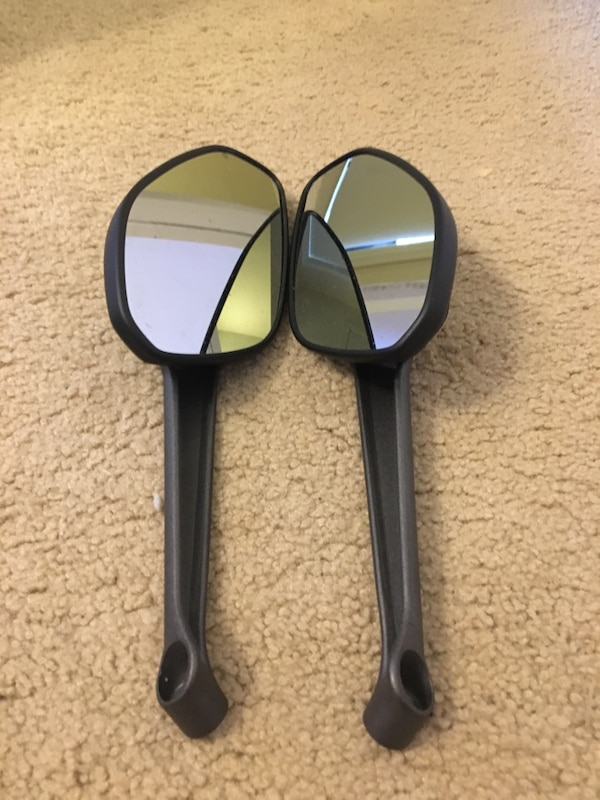 Ducati Monster - Rear view mirrors