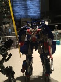 optimus prime and iron hide transformer toys 2 for 25 Calgary