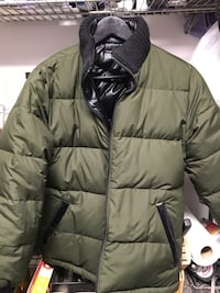 Michel Klein Paris reversible down jacket  Burnaby, V5G 3X4