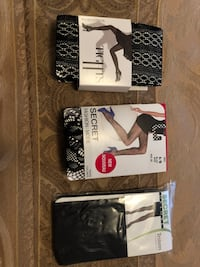 Nylons new 3 for 12$ Laval, H7M 5C1