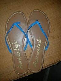 ff3f289ce Used Lilly Pulitzer flip flops dressy sandals. Sz 9 for sale in West ...