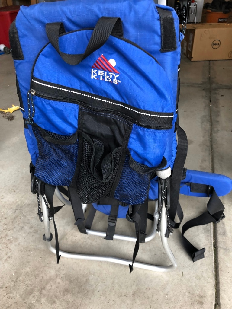 Photo Kelty baby/kids backpack