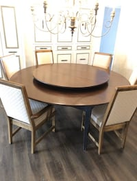 Solid Wood Spindle Round Table Oklahoma City, 73179