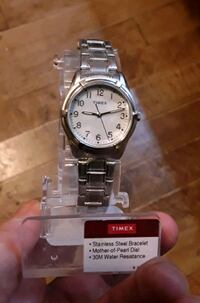NEW Timex Waterproof Mother of Pearl Watch Martinsburg, WV, USA, 25401