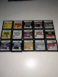 assorted Nintendo DS game cartridges Burnaby, V5B 2C2