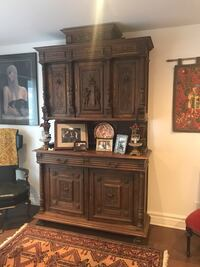 Magnificent antique sideboard 785 km