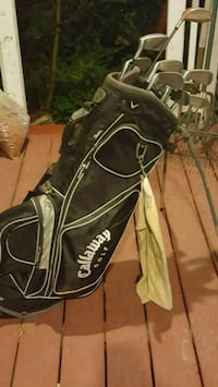 black and brown Callaway golf bag Corner Brook, A2H 2P4