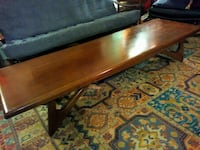 Stunning mid-century Walnut coffee table signed