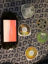 PSP with games and charger  Pennsville, 08070