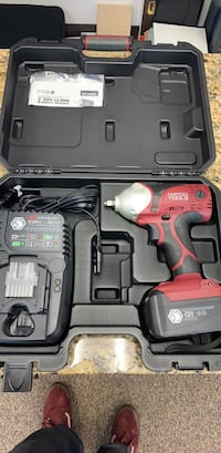 red and black Milwaukee cordless power drill with case Vienna, 22180