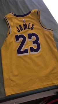 LeBron James Lakers jersey medium sized must come get