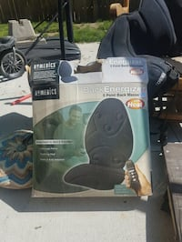 Homedics back massager 5-speed with heat and remote control