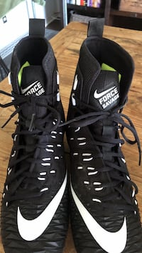 Size 11 1/2 NIKE FORCE SAVAGE FOOTBALL CLEATS BRAND NEW 75$ Flower Mound, 75028