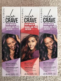 Hair dye set of 3 ($36 dollar value)  Chestermere, T1X 1L8