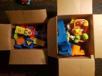 assorted color plastic toy lot Wrightsville, 17368