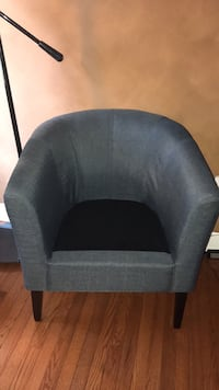 Black and gray fabric sofa chair Hopewell Junction, 12533