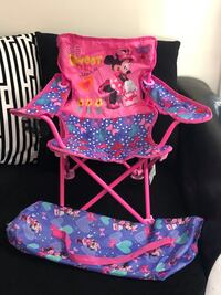 Minnie  Mouse folding chair with carry bag Waldorf, 20602