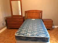 Single Bed, Dresser, Nightstand  Richmond Hill, L4E 3V7