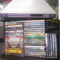 Dvd movies and DVD player.    Edmonton, T5H 2N4