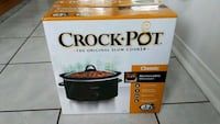 Crock pot classic 3 quart new in box Ajax, L1T 4A3